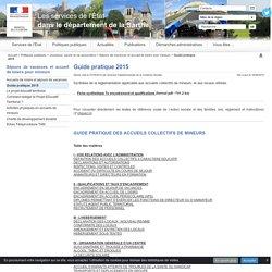 Guide pratique 2015 - La préfecture de la Sarthe