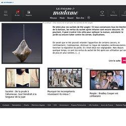Vie pratique : Cinq raisons de ne pas jeter les sachets de thé usagés - Le Figaro.fr Madame