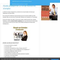 Guide pratique du CV et de recherche d'emploi - laboite-cv.fr