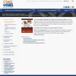 Guide pratique de gestion des Ressources Les formations RH - CSMO Textile