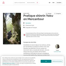 Pratique shinrin Yoku en Mercantour