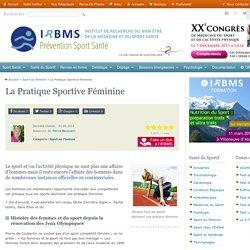 La Pratique Sportive Féminine