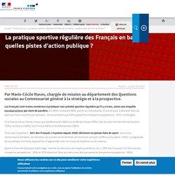 La pratique sportive régulière des Français en baisse: quelles pistes d'action publique?