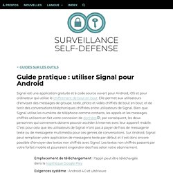 Guide pour installer SIgnal (remplace whatsapp)