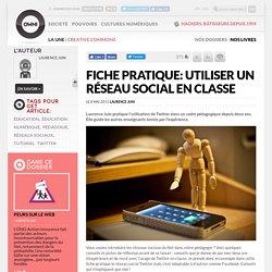 Fiche pratique: utiliser un réseau social en classe