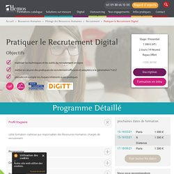 Pratiquer le Recrutement Digital