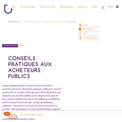 Conseils pratiques à l'attention des acheteurs de «design des politiques publiques»