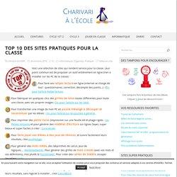 Top 10 des sites pratiques pour la classe – Charivari à l'école
