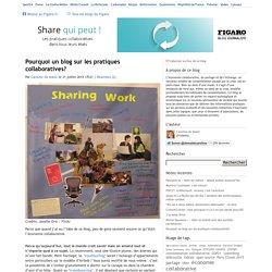 Pourquoi un blog sur les pratiques collaboratives? — Share qui peut !