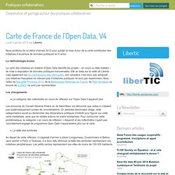 Carte de France de l'Open Data, V4