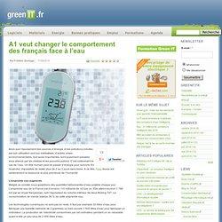 A1 veut changer le comportement des français face à l'eau