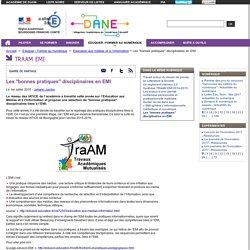 """Les """"bonnes pratiques"""" disciplinaires en EMI"""