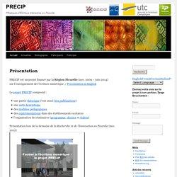 PRatiques d'ÉCriture Interactive en Picardie