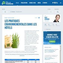 » Les pratiques environnementales dans les hôtels