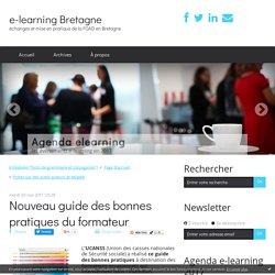 Nouveau guide des bonnes pratiques du formateur - e-learning Bretagne