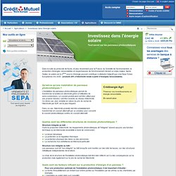 Infos pratiques - Investissez dans l'énergie sol