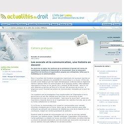 Cahiers pratiques de la Lettre des Juristes d'Affaires