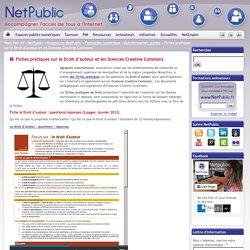 Fiches pratiques sur le Droit d'auteur et les licences Creative Commons