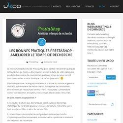 Les bonnes pratiques PrestaShop : Améliorer le temps de recherche