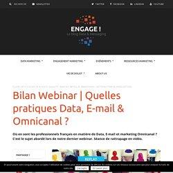 Quelles pratiques et tendances Data et messaging des professionnels français ?