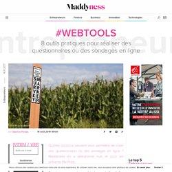 #WebTools : 8 outils pratiques pour réaliser des questionnaires ou des sondages en ligne - Maddyness