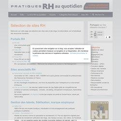 Pratiques RH au quotidien » Sélection de sites RH