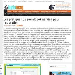 Les pratiques du socialbookmarking pour l'éducation - Ludovia Magazine