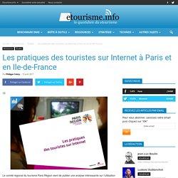 Les pratiques des touristes sur Internet à Paris et en Ile-de-France