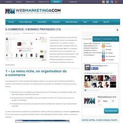 E-commerce: 5 bonnes pratiques ...