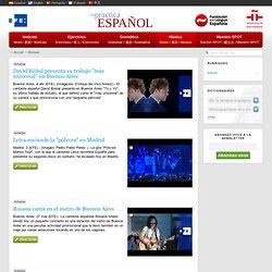 Musique - Pratiquez l'espagnol - EFE, Fondation de la Langue Espagnole et Institut Cervantes