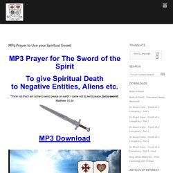 MP3 Prayer to Use your Spiritual Sword - Rex Deus