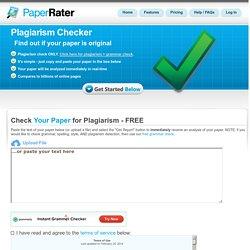 Pre-Grade Your Paper