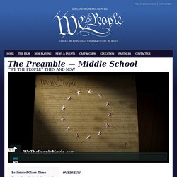 The Preamble — Middle School