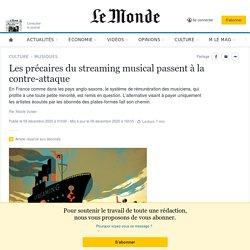 Les précaires du streaming musical passent à la contre-attaque