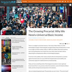 The Growing Precariat: Why We Need a Universal Basic Income