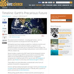 Timeline: Earth's Precarious Future