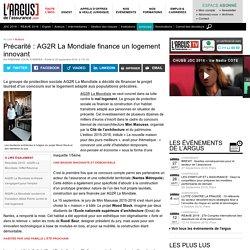 Précarité : AG2R La Mondiale finance un logement innovant