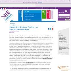 enfants, précarité, droits, pauvreté . En bref - Actualités - Vie-publique.fr