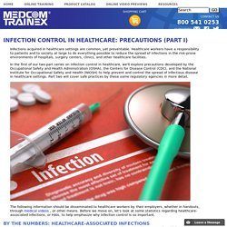Infection Control in Healthcare: Precautions