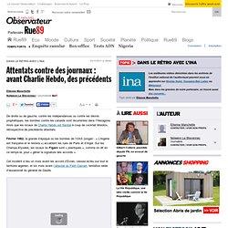 Attentats contre des journaux: avant Charlie Hebdo, des précédents