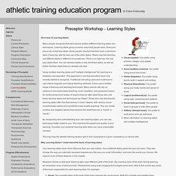 Athletic Training Education Program