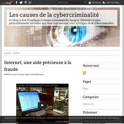 Internet, une aide précieuse à la fraude - Les causes de la cybercriminalité