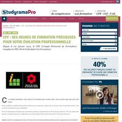 CPF : Des heures de formation précieuses pour votre évolution professionnelle - DIF, CPF, GPEC - Studyrama Pro