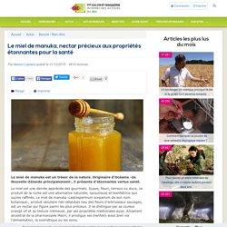 Le miel de manuka, nectar précieux aux propriétés étonnantes pour la santé