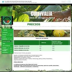 precios huertos - CULTIVALIA