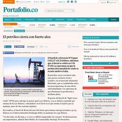 Precios del petróleo 12 febrero 2015