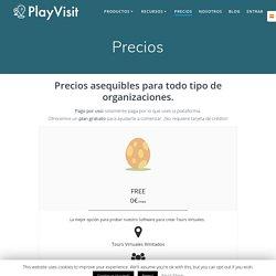Precios - PlayVisit
