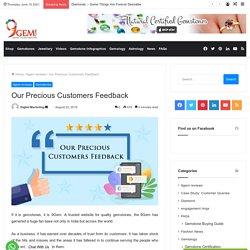 9Gem reviews-Our Precious Customers Feedback