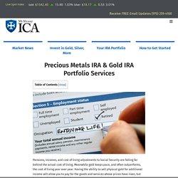Gold IRA Portfolios