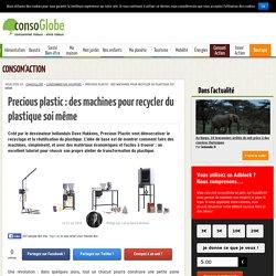 Precious Plastic : recycler le plastique à la maison